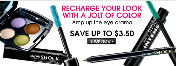 Recharge Your Look with a Jolt of Color - Save Up To $3.50 - Amp up the eye drama