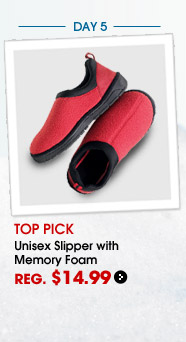 Day 5, Unisex Slipper