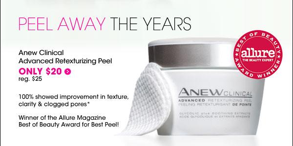 Anew Retexturizing Peel