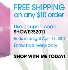 Free Shipping on any $10 order