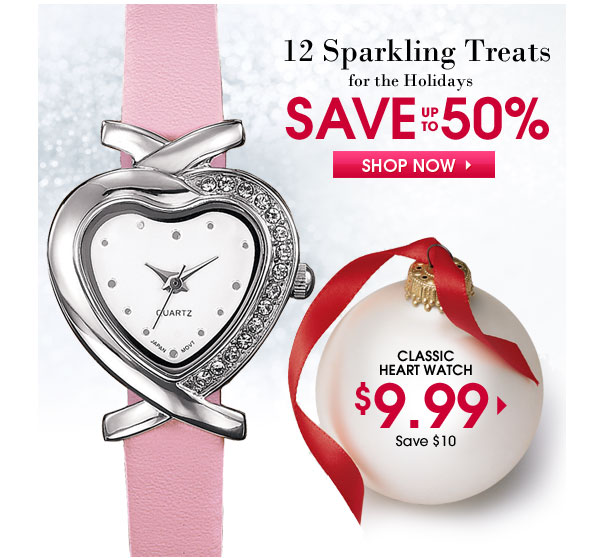 Save $10 on Classic Heart Watch