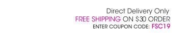Free Shipping on $30 order