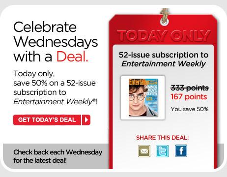 Wednesday's Deal