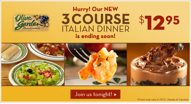 Stretching your dollar olive garden 3 course dinner - Olive garden soup and salad dinner ...