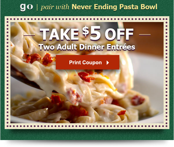 Current Olive Garden Promotions Ending August 29th 2013 Canadian Deals And Coupons