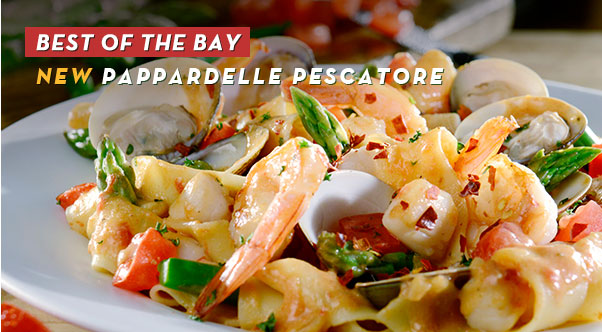 Fisherman's Favorite New Pappardelle Pescatore