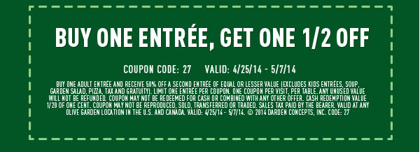 Olive Garden Coupons Your Restaurant Coupons