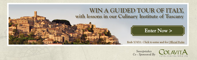 Win a Guided Tour of Italy