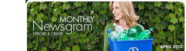 Monthly Newsgram: Explore & Create