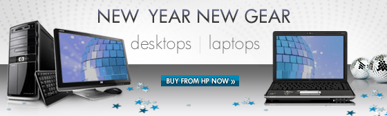 New Year New Gear - Buy from HP NOW!