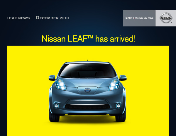 The Day Has Finally Come. The First Run Of Nissan LEAF™ Vehicles Are Now  Being Delivered To Their Rightful Owners. To See How They Are Being  Received, ...