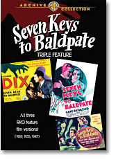 SEVEN KEYS TO BALDPATE TRIPLE FEATURE (1929, 1935, 1947)