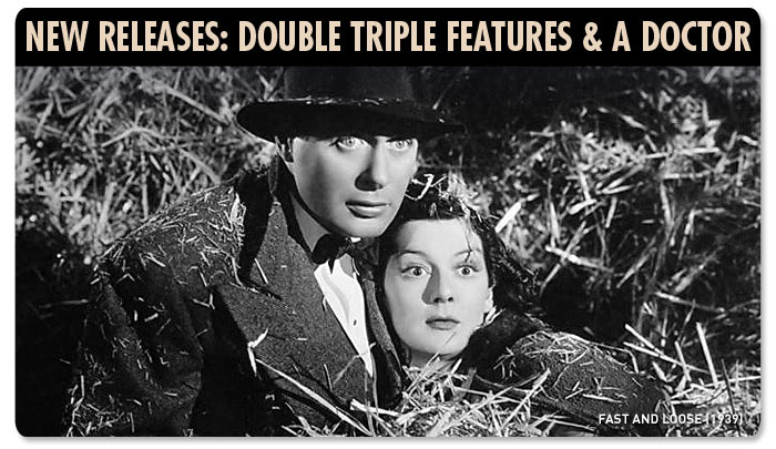 New Releases: Double Triple Features & a Doctor