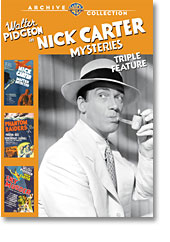 NICK CARTER MYSTERIES TRIPLE FEATURE (1939-1940)