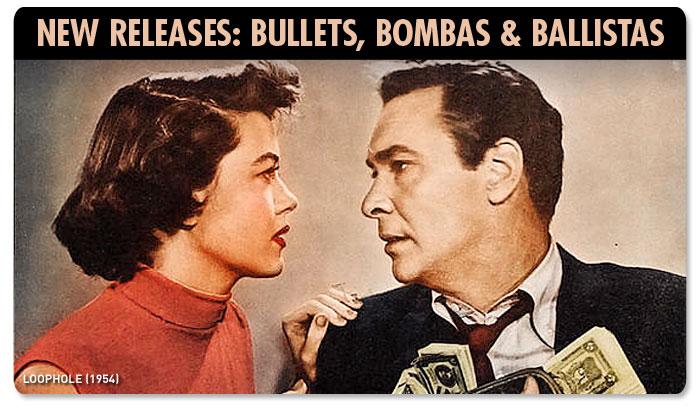 New Releases: Bullets, Bombas & Ballistas