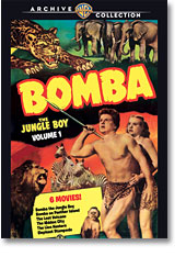 BOMBA THE JUNGLE BOY, VOLUME ONE (1949-51)