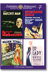 FORBIDDEN HOLLYWOOD VOLUME 7 (1932-33)