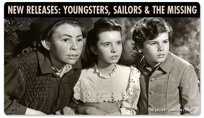 New Releases: Youngsters, Sailors & the Missing