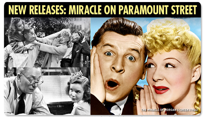 New Releases: Miracle on Paramount Street