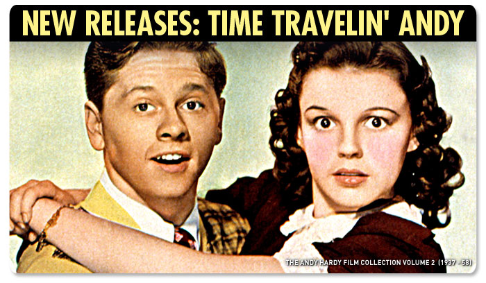 New Releases: Time Travelin' Andy