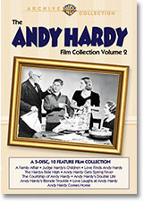 THE ANDY HARDY FILM COLLECTION VOLUME 2 (1937-58)