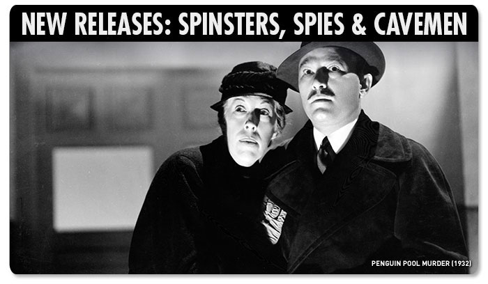New Releases: Spinsters, Spies & Cavemen