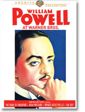 WILLIAM POWELL AT WARNER BROS. (1931-34)