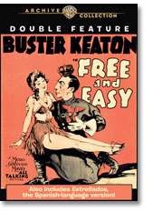 FREE AND EASY/ESTRELLADOS BUSTER KEATON DUAL LANGUAGE DOUBLE FEATURE (1930)